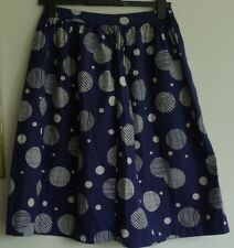 Pretty SEASALT  PIGMENT SKIRT Cotton  SKIRT  Size 10