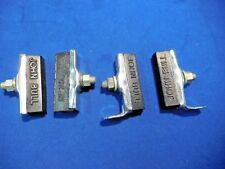 vintage Raleigh & Phillips Bicycle Rod Brake Pads 2 pairs w/Chrome NOS