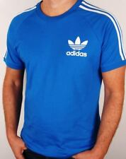 ADIDAS ORIGINALS RETRO 3 STRIPES CALIFORNIA TSHIRT BNWT BLUEBIRD SIZE XL LAST 2