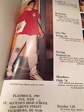 1990 yearbook annual St Saint Aloysius High School Vicksburg Mississippi Gr 8-12