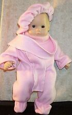 "Doll Clothes Baby Made 2 Fit American Girl 15"" Bitty Beret' Scarf SnowSuit Pink"