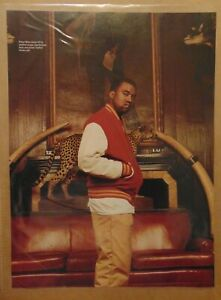 KANYE WEST Music Superstar Spotted Cougar Print Photo Clipping