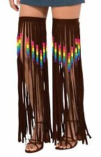 Hippie Leg Garlands Beaded/Fringed, Fancy Dress Party Costume Accessory #IE