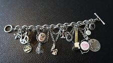 Rock N Roll Hawaiian Charm Bracelet by Lucky Brand 8.5 inches