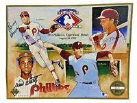 1991 Upper Deck Heroes Baseball 1971 Phillies Tribute 3 autographs Bowa Money +