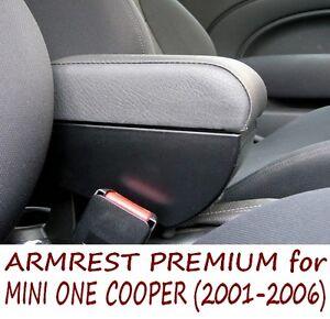 Armrest for Mini One Cooper (2001-2006) PREMIUM - MADE IN ITALY - mittelarmlehne