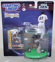 """Starting Lineup MLB '99 Extended Series #42 MAURICE """"MO"""" VAUGHN ~ ANAHEIM ANGELS"""