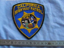PATCH POLICE US POLICEMAN US 1960'S 1970'S CALIFORNIA HIGHWAY PATROL