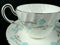 Foley Bone China England Prelude by Maureen Tanner Tea Cup and Saucer