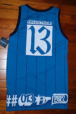 NEW Men's Been Trill #BEENTRILL #13 Blue Turquoise Jersey Tank Top (Medium)