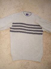 Authentic Men's Size:XXL`STEVE&BARRY'S` Sweater,Light Gray,Pre-Owned Barely Worn