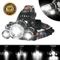 100000LM 18650 T6 LED Headlight Headlamp Head Torch Flashlight Work Light Lamp