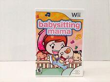 Babysitting Mama - For Nintendo Wii