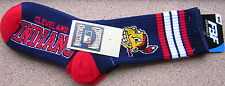Cleveland Indians OLD Chief Wahoo 4-Stripe Deuce Socks 10-13 Exclusive