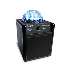Ion Party Power iPA19C Bluetooth Portable Speaker w/ Party Lights & 3.5mm Input