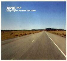 APOPTYGMA BERZERK APBL LIVE 2000 CD Digipack 2007