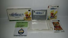 93-03 SUPER NINTENDO SNES FAMICOM SFC FINAL FANTASY V COMPLETE JAPAN