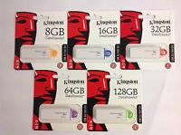 PENDRIVE KINGSTON DT G4 8/16/32/64/128GB / USB 3.1/3.0/2.0