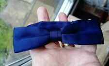 "Dickie Bow Tie Dark Blue Tie Rack Maximum 17.5"" neck, adjustable"