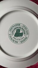"""New ListingLongaberger Woven Traditions """"Heritage Green"""" Dinner Plate 10 1/4 Inch"""