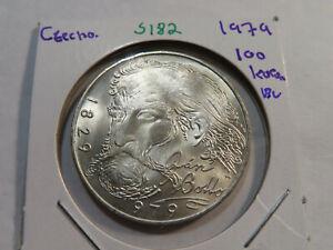 S182 Czechoslovakia 1979 100 Korun BU