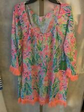 NWT Lilly Pulitzer Getaway Cover-Up Multi Fansea Pants  XL Free Shipping