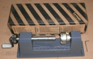 """Vintage Lyman Universal Case Trimmer """"Old School Grey"""" with box and hex wrench"""
