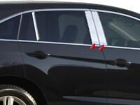 4PC Stainless Steel Pillar Post Trim - PP13270 For ACURA RDX 2013-2018