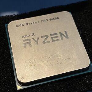 AMD Ryzen 5 Pro 4650g (No Cooler)