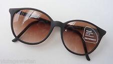 Eschenbach leichte Sonnenbrille schwarz groß Panto Verlauf Gläser Unisex size M