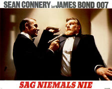 James Bond - Sag niemals nie ORIGINAL Aushangfoto Sean Connery / Kim Basinger