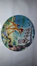 "Bambi Collectors Plate ""What's Up, Possums"" by Knowles"