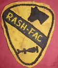 Hand Sewn Patch - RASH FAC - BRONCO OV-10 - 1st CAVALRY DIV - VIETNAM WAR - 0890