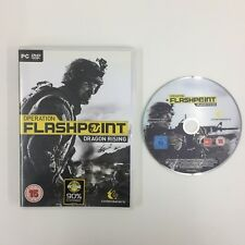 Operation Flashpoint Dragon Rising PC DVD Game Used UNTESTED