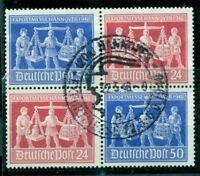 Alliierte Besetzung. Exportmesse Hannover 1949, VZd 1 Sonderstempel