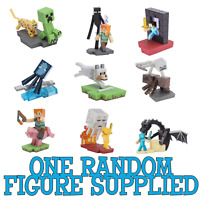 Minecraft Craftables Series 1 Action Figure (one random figure supplied)