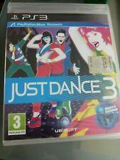 JUST DANCE 3 RICHIEDE MOVE-  ITALIANO  PS3 NUOVO SIGILLATO