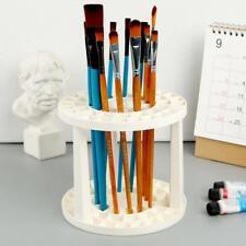 Art Supplies Using Paint Brush Penholder White Round Plastic Stand  Ho!,New