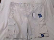 Apt.9 Men's Premier Flex Stretch Comfort Waist Cargo Cream Shorts Size 30