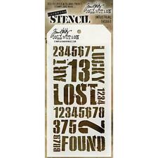 Tim Holtz Layering Stencil ~ INDUSTRIAL ~ THS051 ~ Stampers Anonymous