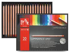 Caran d'Ache Luminance permanent Crayon de couleur 20 Couleur Box Set