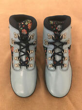 Timberland Big Kid Hiker Boots, Light Blue Floral, Size 5