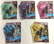 MONSTER HIGH NAIL POLISH Lot of 10 PACK  -Gifts, Party Favor, Presents
