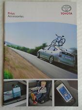 Toyota Prius range brochure Apr 2008