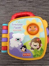 FISHER PRICE Precious Planet animal sounds Interactive book