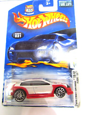 Hot Wheels Flight '03 2003 First Editions 19/42 White 1/64 Long Card HW 2003