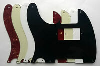 Tele '52 5 hole LEFT HAND Pickguard PAF humbucker route Micawber style for US