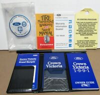 1991 Ford Crown Victoria Owners Operators Manual Original W/Extras