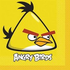 Angry Birds Lunch Dinner Napkins 16pcs Party Supplies