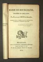 MARIE DE BOURGOGNE Tragédie Par Édouard Smits 1823 piéce de théatre